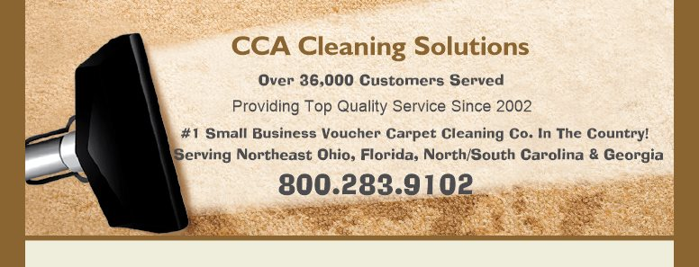 CCA Cleaning Solutions - Providing Top Quality Service Since 2002